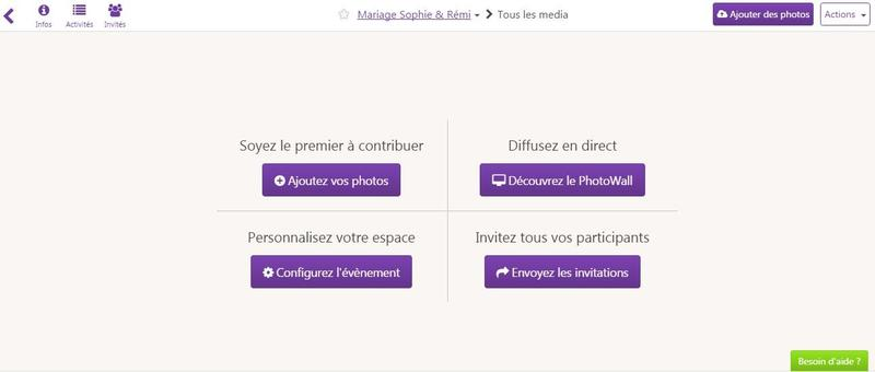 Sharypic - galerie collaborative du mariage