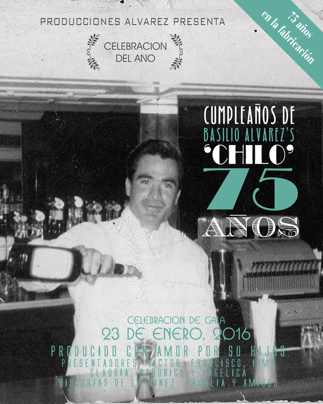 Chilo's 75th photos